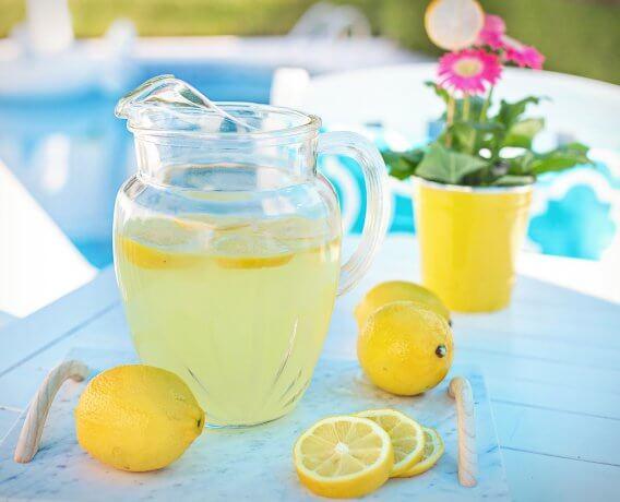 zdrowa lemoniada