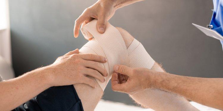 Naderwanie wiązadła kolana